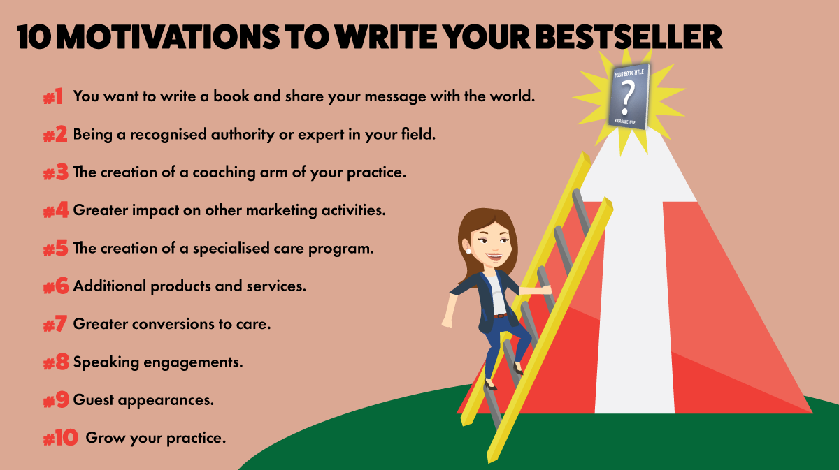 10 Motivations To Write Your Bestselling Book
