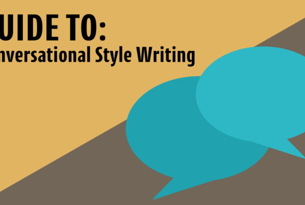 Conversational Style Writing