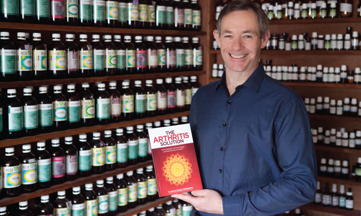 The Arthritis Solution Is A Chiropractic Book Written By Dr. Marcus Chacos